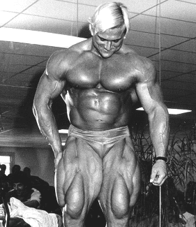 "The Complete Gym Encyclopedia!! : TOM PLATZ ""The Quadfather"" LEG ..."